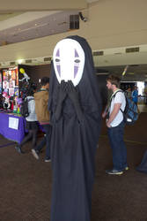 Callum's Cosplay and Costume Corner: No Face (#4) by Pixel-Excel