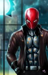 A Red Hood by chimeraic