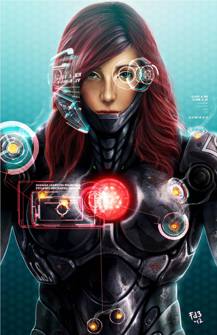 War Maiden - Pepper Potts by chimeraic