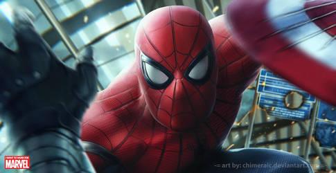 Spider-Man by chimeraic
