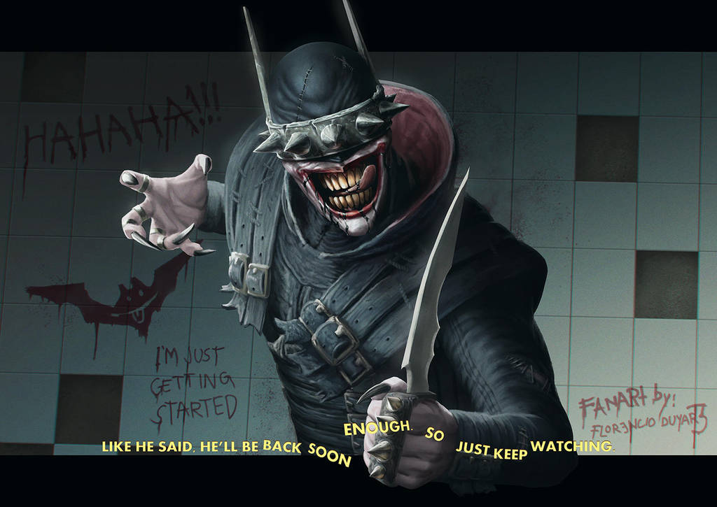 Dark Nights: Metal - The Batman Who Laughs by chimeraic