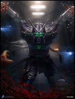 Sci-fi Samurai - advanced version by VladMRK
