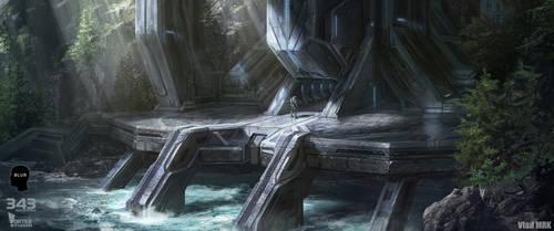 Halo 2 environment by VladMRK