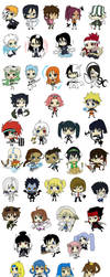 Epic Chibi Collection SPOILERS by amasugiru