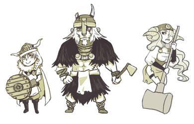 Vikings by amasugiru