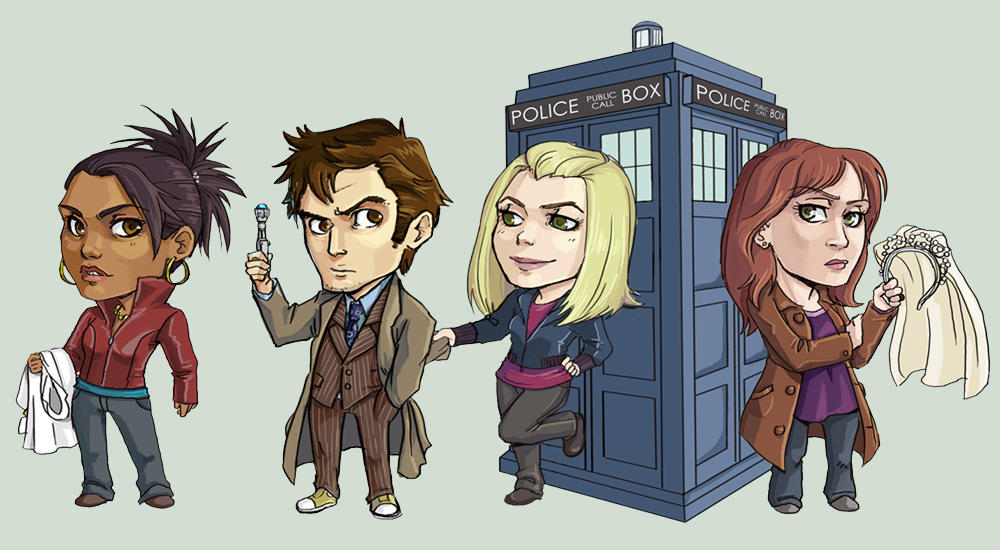 Dr. Who Commission by amasugiru