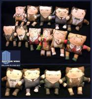 11 Cuddly Doctors by amasugiru