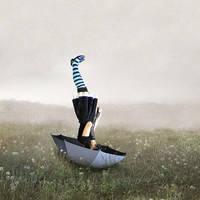 Umbrella melancholy by RGDart