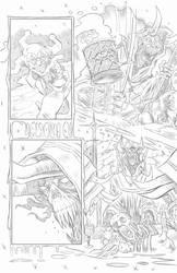 Nightmare Creatures- Mckenna-ORiley page 2 pencils by joriley