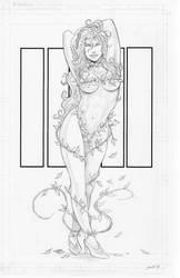 Poison Ivy Pencil Print by joriley