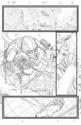 DiveBomb page 1 for Pilot Studios pencils by Me by joriley