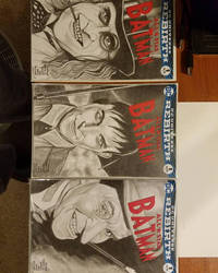 Penguin sketch covers by joriley