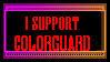 Colorguard Stamp by Smartacus