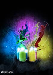 Color-dancers by AlmaChiaraAlex