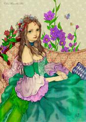 Color Romantic-Line-Jasmine-Darnell- YasaHime by AlmaChiaraAlex