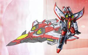 Starscream - Armada by kingbirdkathy