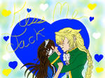 Kiss me Jack! says Sarah by AnimeKieka101