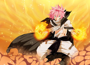 Fairy Tail 418 - Natsu Dragneel (One Year Later) by Natsu9555