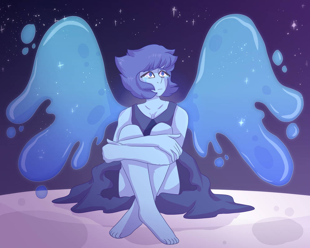I love lapis sm ;0; this took foreverr but I'm so happy with how it came out. ;v;