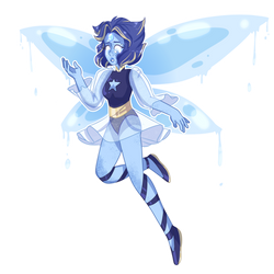Angelite - Lapis and Pearl Fusion by FancyKiwi