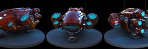 Spaceship by GeneticSpartan