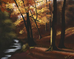 Autumn Forest by NikSebastian