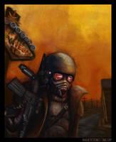 Fallout New Vegas Desert Ranger by NikSebastian