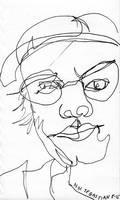 Blind Portrait #5 - Teresa by NikSebastian