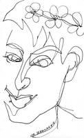 Blind Portrait #7 - Kris by NikSebastian