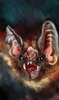 Vampire Bat by NikSebastian