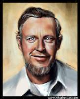 Grandfather portrait by NikSebastian