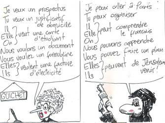 Terror A Guichet by fotizontas