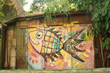 Fish at Pagrati Park by fotizontas