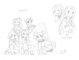 Kunoichi by Arwen-chan