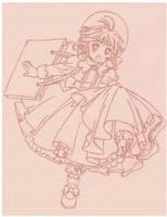 Sakura's new dress by Arwen-chan