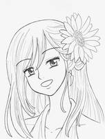 Erza _ Sunflower by Arwen-chan