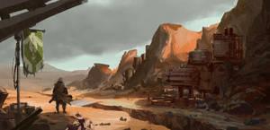 Destiny FanArt 2 by SavoryBaconist