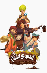Quad Squad- School Project by SavoryBaconist