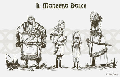 Il Monstro Dolce- The Candy Monster by SavoryBaconist