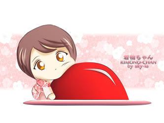 Light-hearted Kimono-chan by SKY-ia