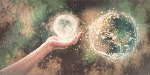A Hand In The Sky (v.2) by BlazingFireBug