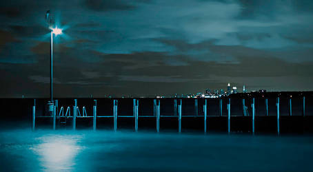Pier to the East by astulock