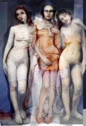 Three Graces by Flockhart