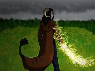 Lightning Blade by NexisSakura