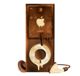 Chocolate Ipod by chirodevil