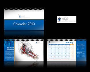 AKG calendar by njart