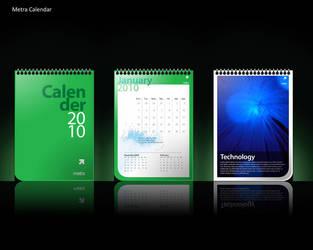 metra calendar by njart