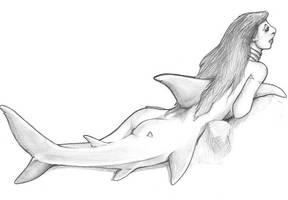 shark girl by something-wild