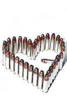 a heart shaped bullet by Vital-Defect