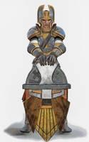 Dwarf Home-guard by DMantz